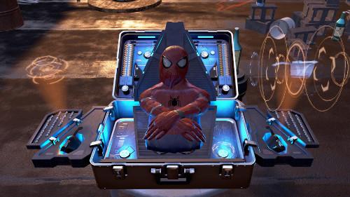 PSVRゲームソフト「スパイダーマンVR」