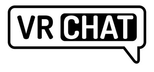 VRchatのロゴ
