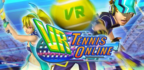 コロプラのVRアプリ「VR TENNIS ONLINE」