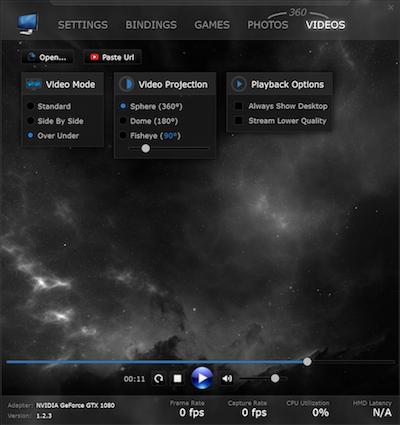 オキュラスリフトでVirtual Desktopを使ってYouTubeを見るには