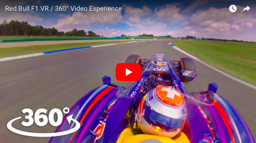 YoutubeのVR F1