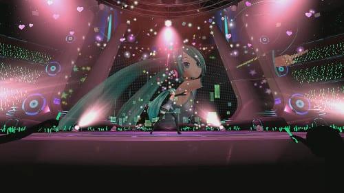 PSVR人気ゲーム「初音ミク」