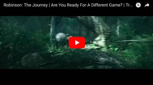 PSVRゲーム「Robinson: The Journey」の動画
