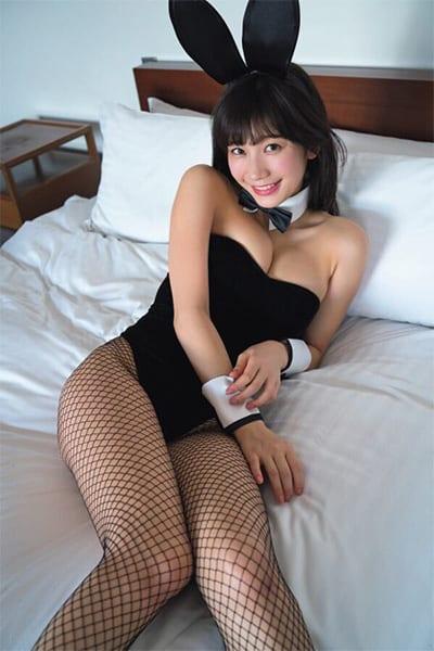 小倉優香,バニーガール