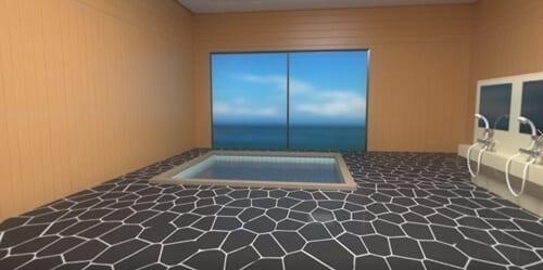 終末のハーレム VR(ハーレム編),大浴場
