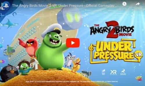 THE ANGRY BIRDS MOVIE 2 VRのトレイラー