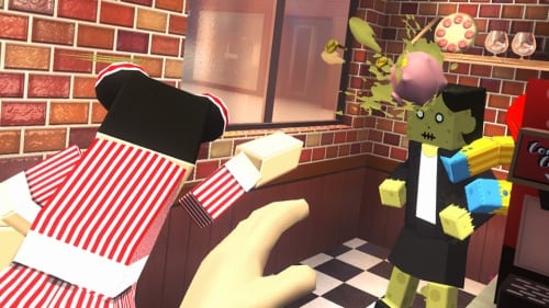 カウンターファイト3 PS VR版