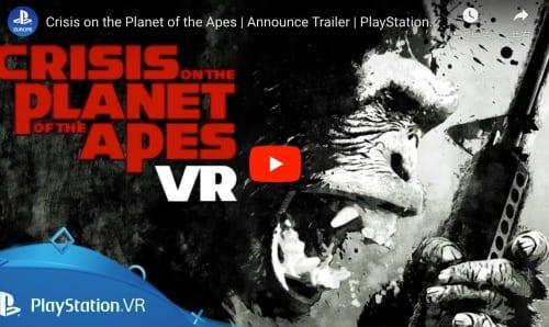 VR 猿の惑星のトレイラー