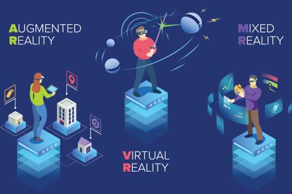 VR・AR・MRの違いとは?最新XR技術について解説!